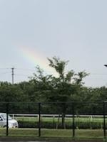 久しぶりの虹🌈