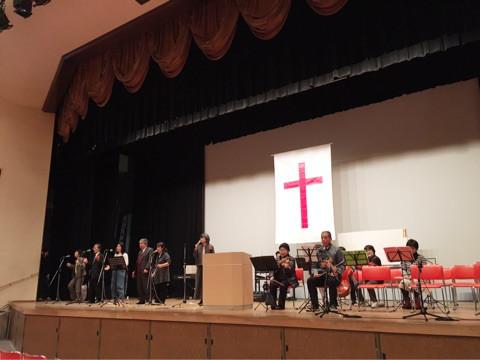 プレ殉教記念聖会