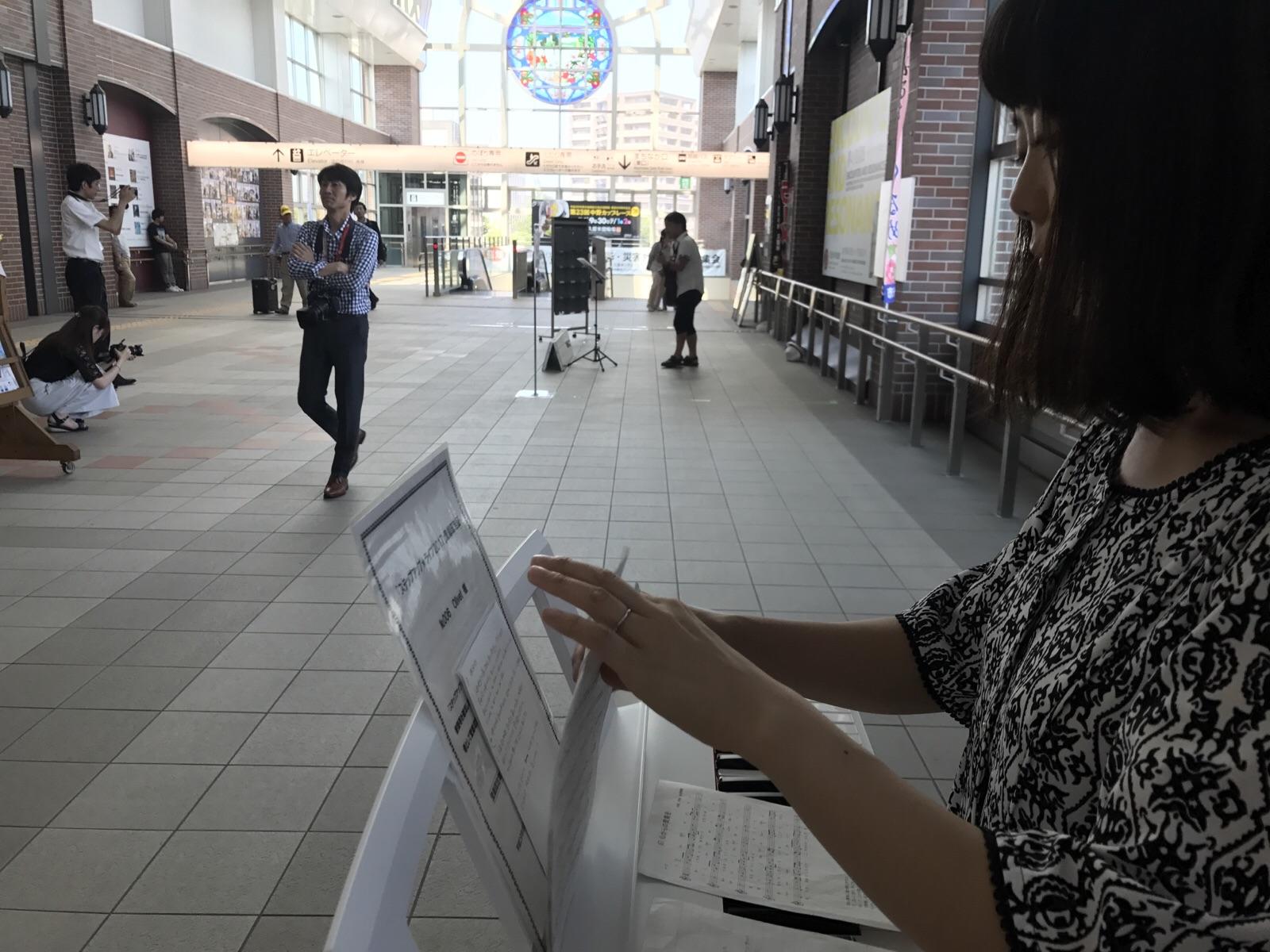 JR久留米駅にて