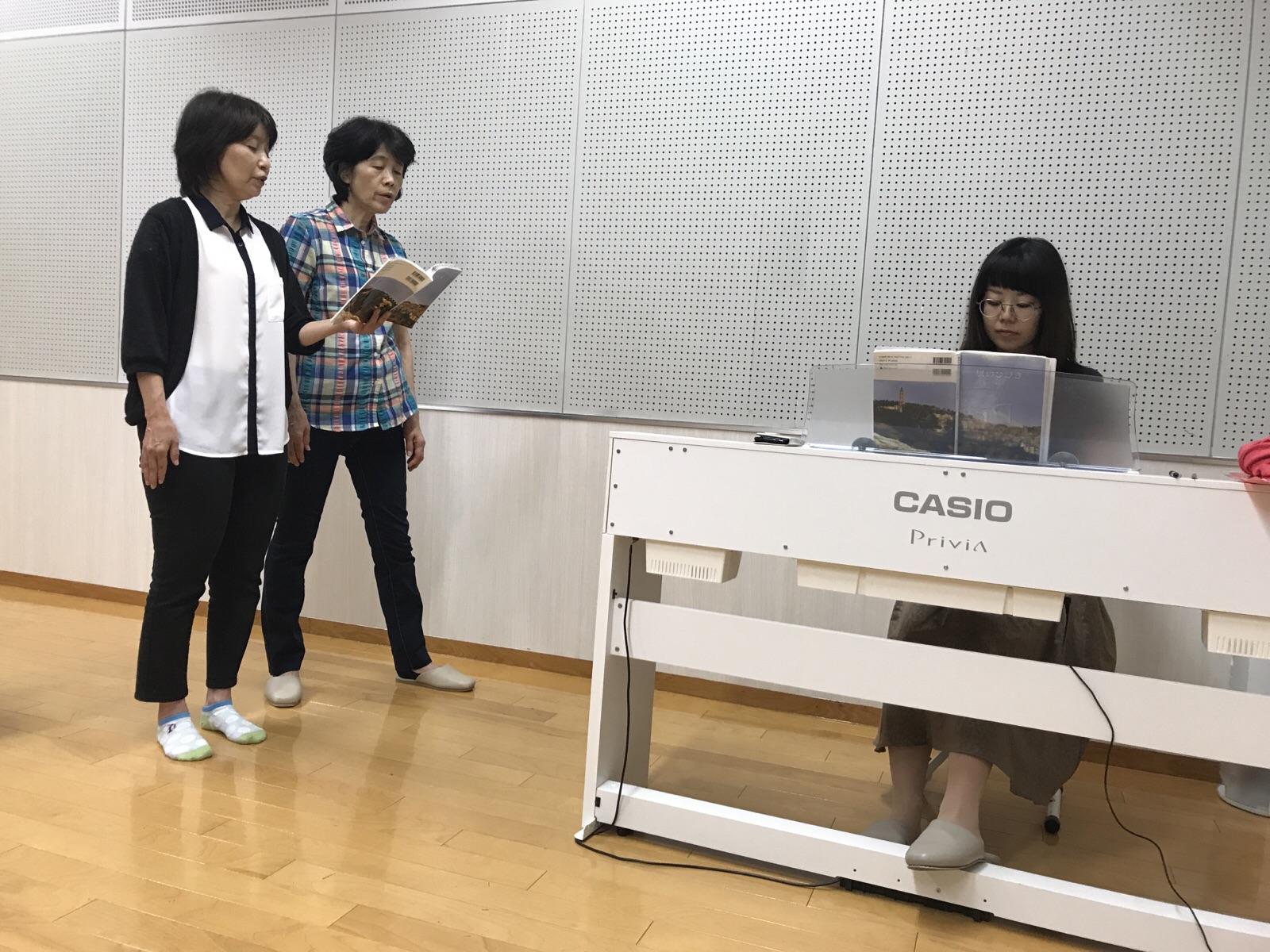 特別賛美の練習